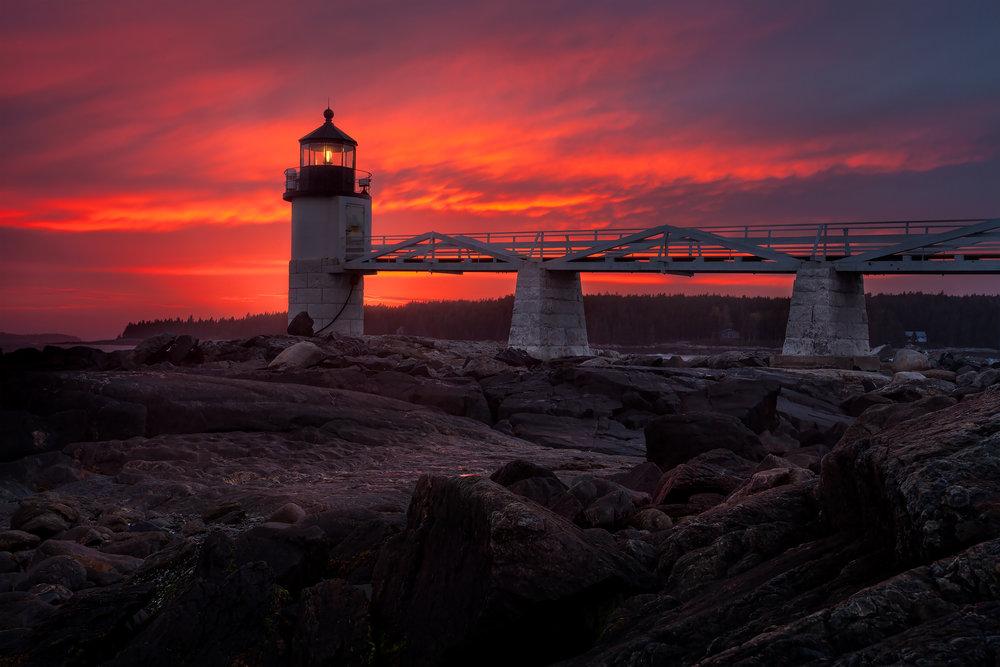Maine Landscape Photography Workshop Marshall Point Lighthouse 2