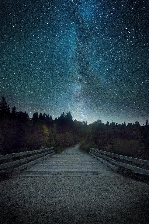 Maine Landscape Photography Workshop Baxter State Park Night Sky