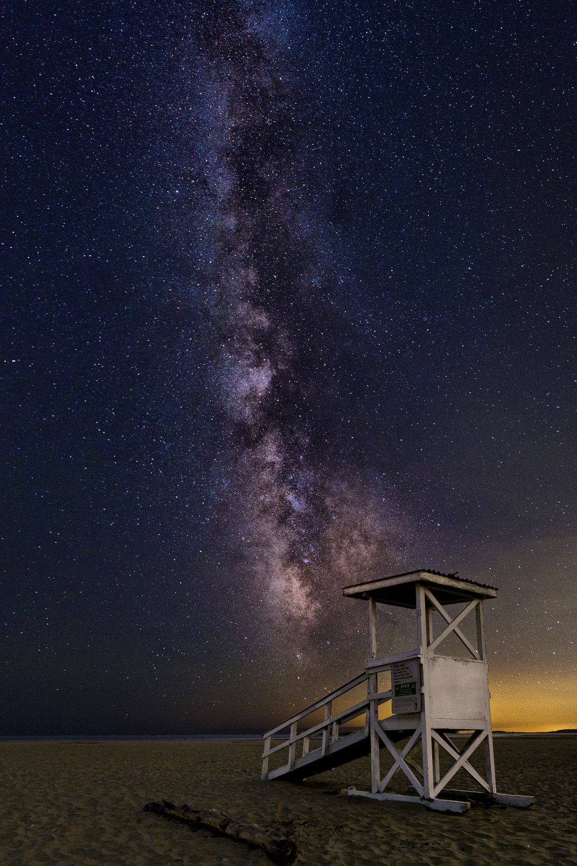 Maine Landscape Photography Workshop Popham Beach Night Sky
