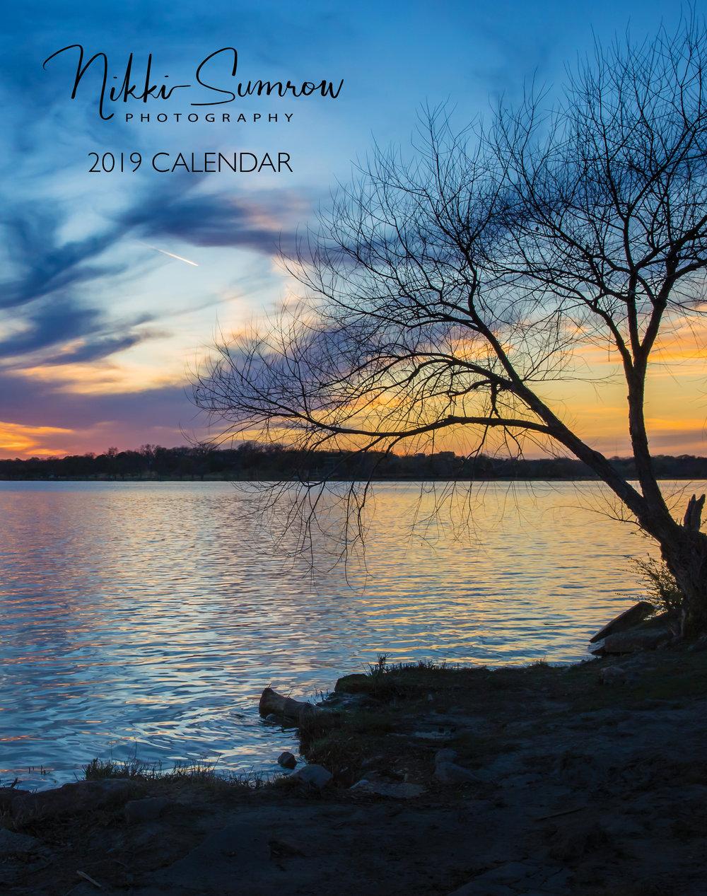 2019 Landscapes Calendar