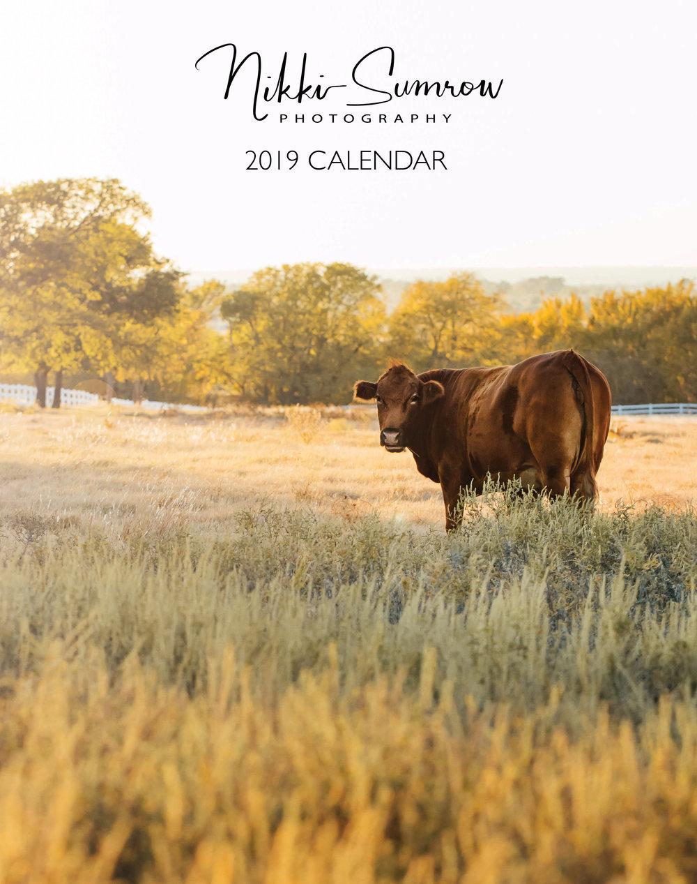 2019 Nature Calendar