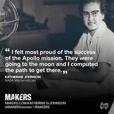 Katherine Johnson computed the path for the Apollo 11 moon mission.