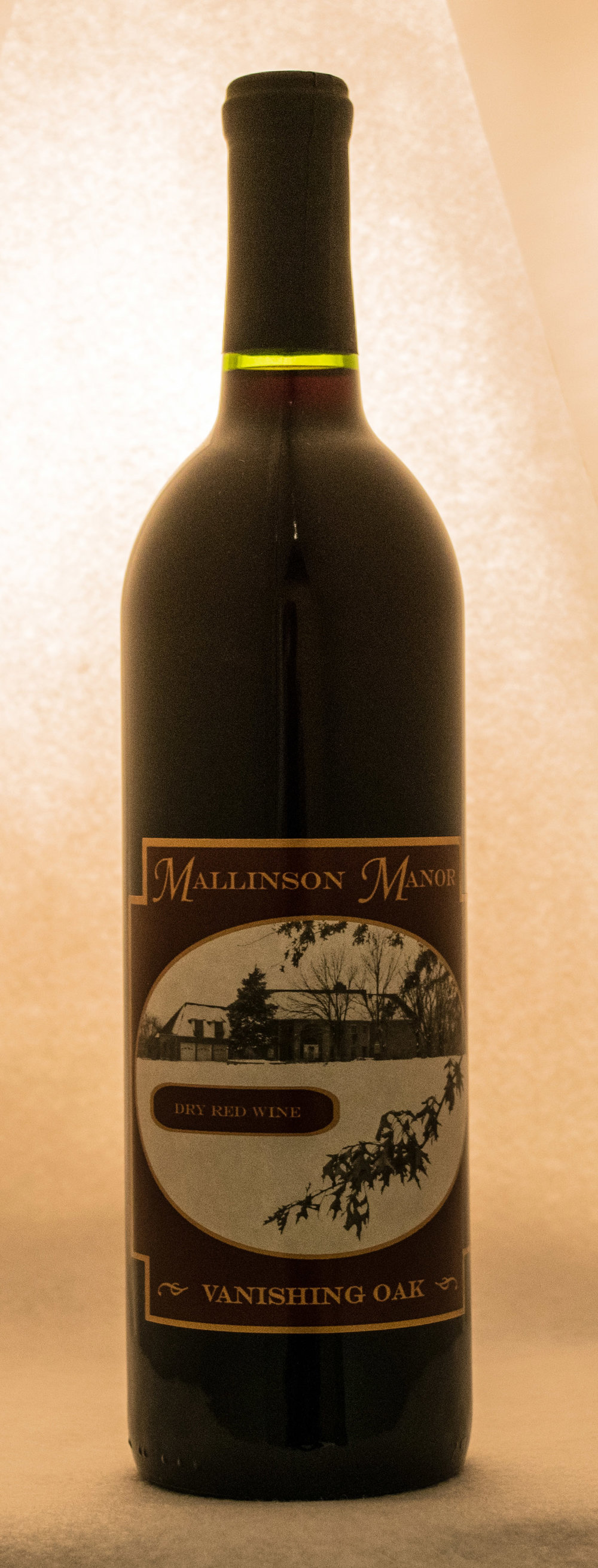 Vanishing.Oak.Dry.Red.Wine.Mallinson.Vineyard.and.Hall.Sugar.Creek.MO.jpg