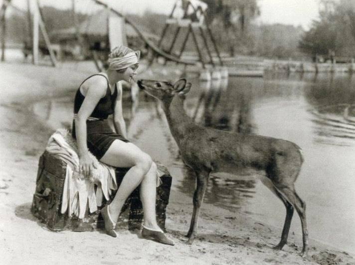 deer and actress.jpg