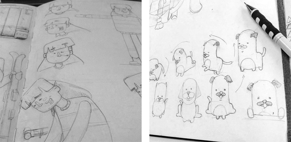 Sketch and concepts