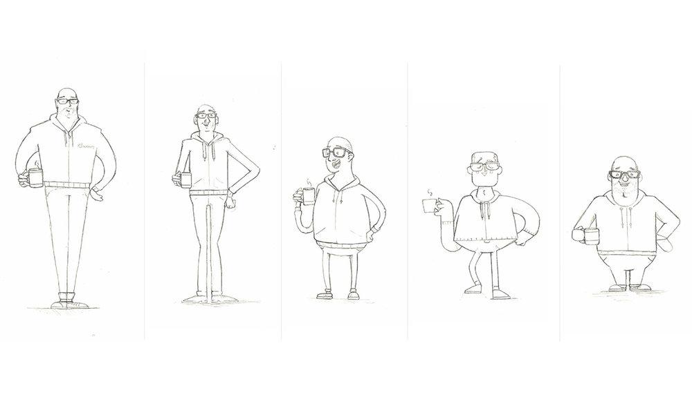 Character design exploration