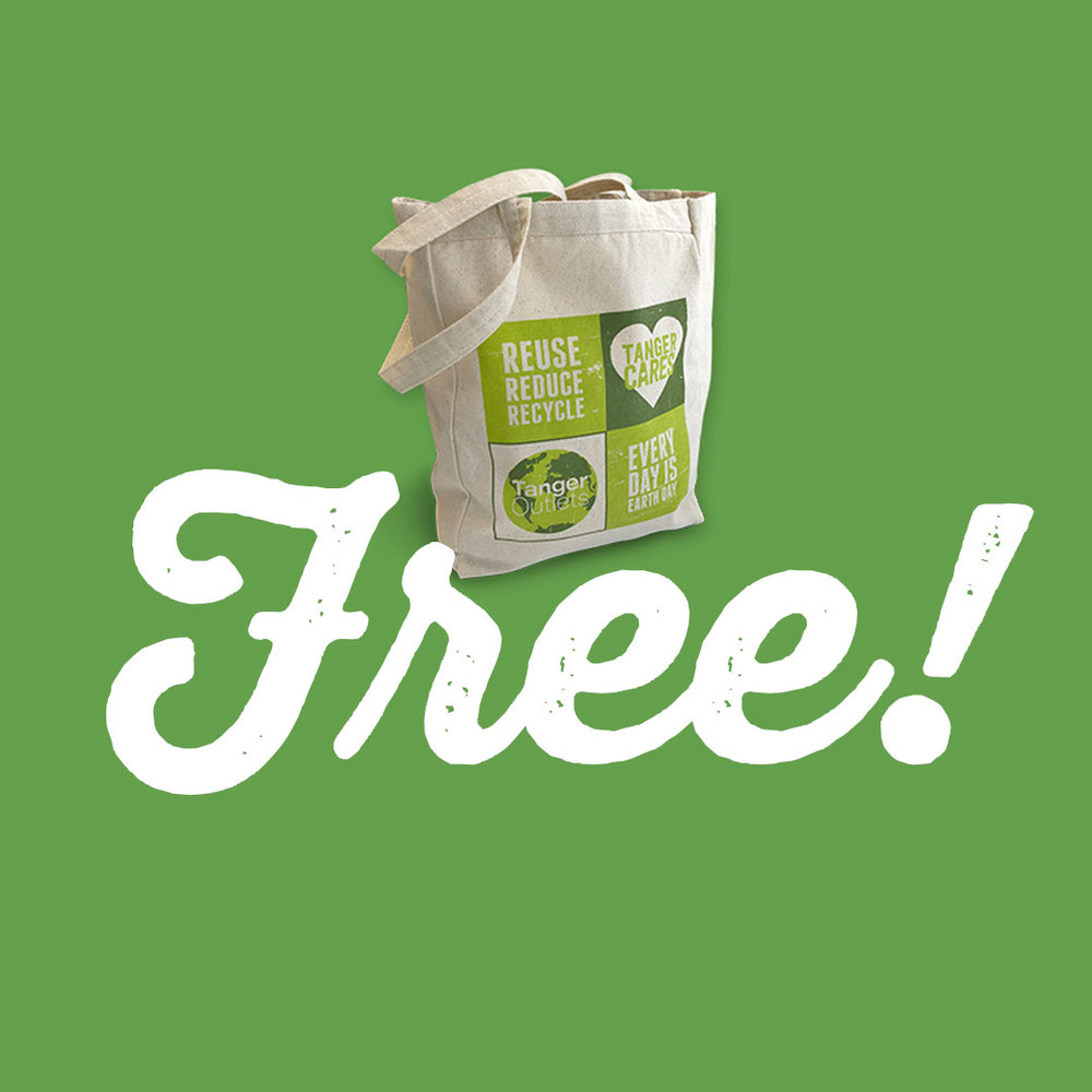 FREE Eco-Tote & Wildflower Seeds to the first 300 shoppers!