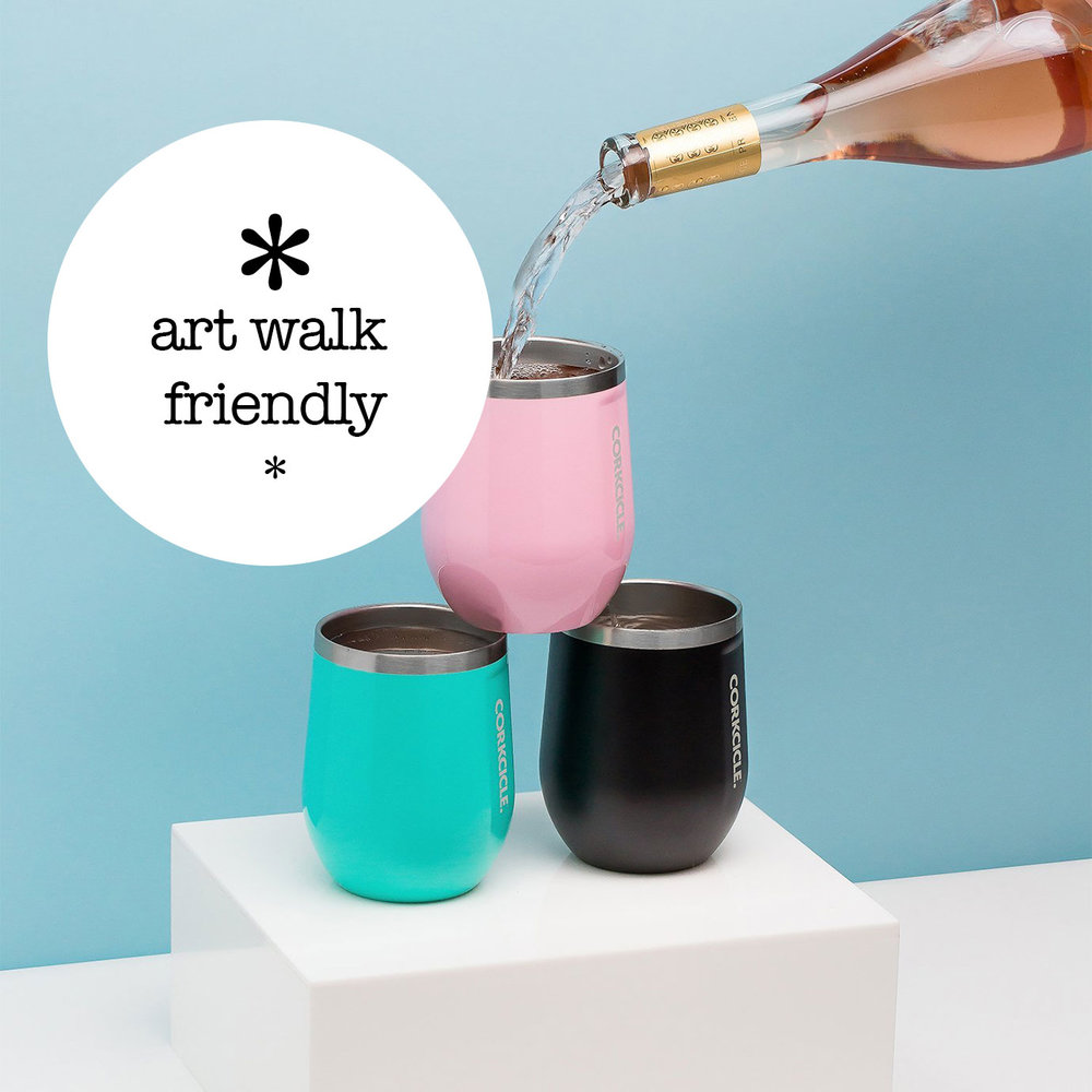 Corkcicle Stemless Glass from   Irresistibles   on King Street