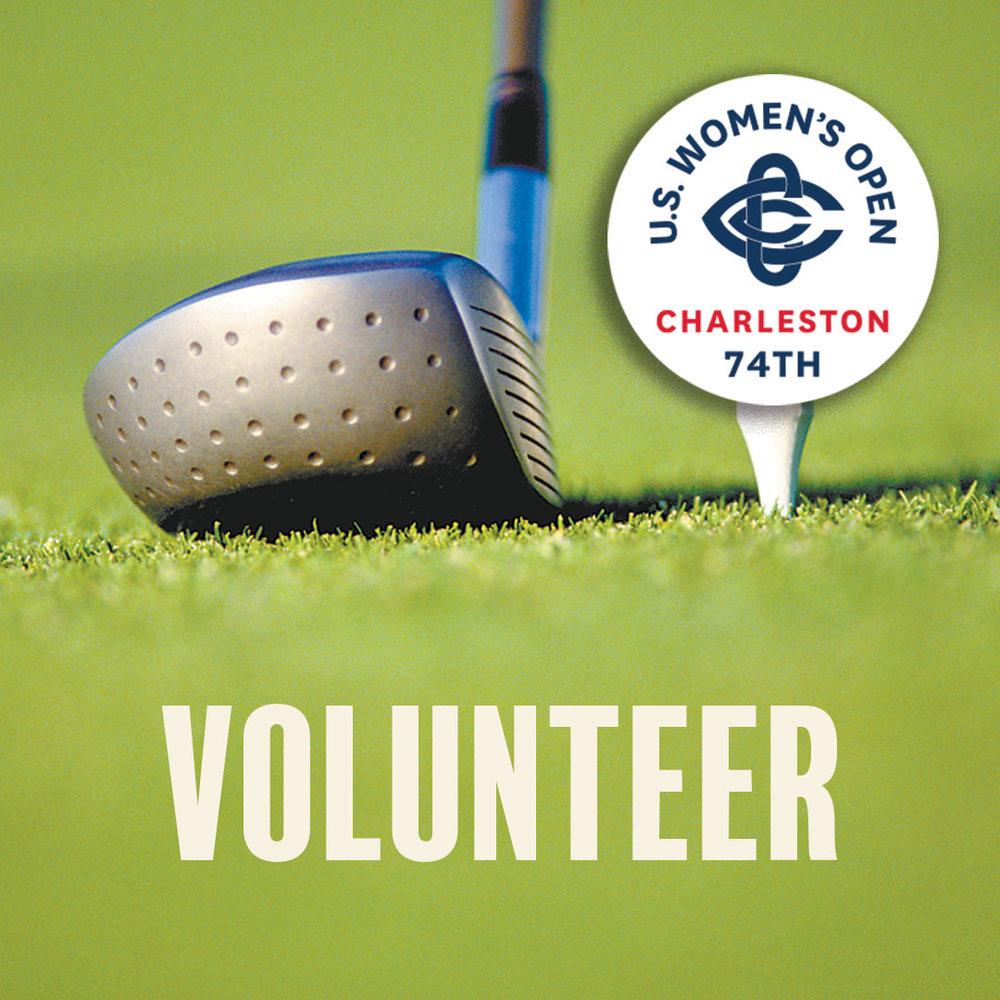 The 74th U.S. Women's Open Championship, 2019, needs volunteers in Charleston, SC.