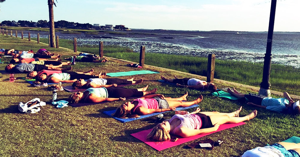 Join Om Outdoors for a 1-Hour All Levels Yoga Class at the Pitt Street Bridge in Mt. Pleasant.