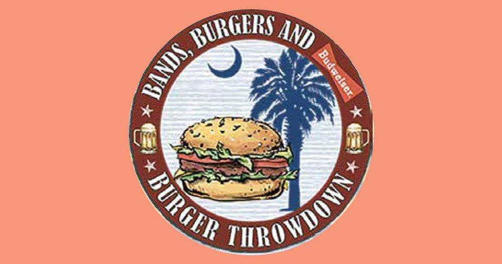 Bands, Burgers, & Brews at Charleston Harbor Resort & Marina on July 14.