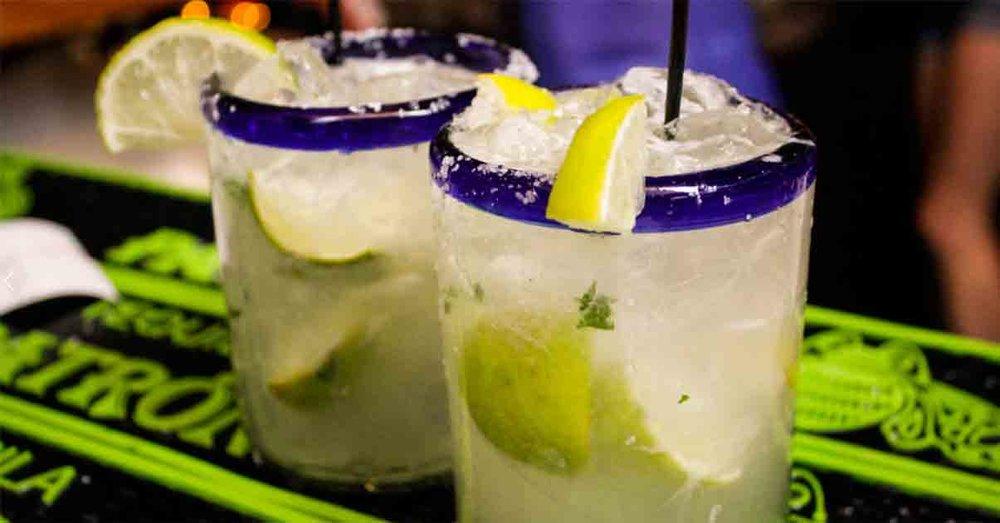 Skinny Margaritas + Paper Straws =True Love at Cantina 76, Mt. Pleasant.