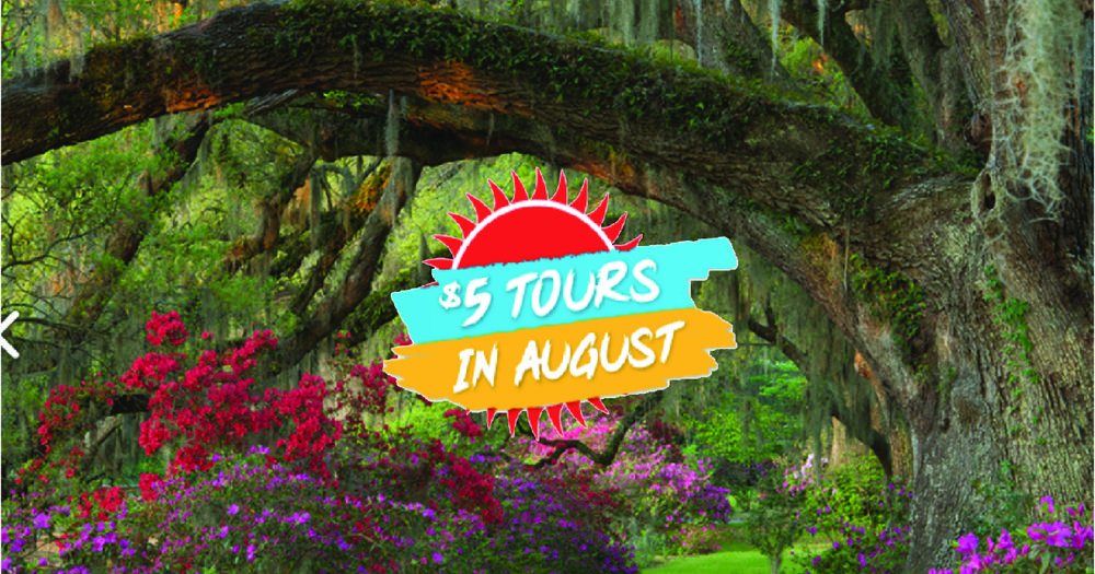 """Magnolia Plantation and Gardens, one of """"America's Most Beautiful Gardens"""" (Travel + Leisure Magazine), is the only garden honored with this distinction in the State of South Carolina."""