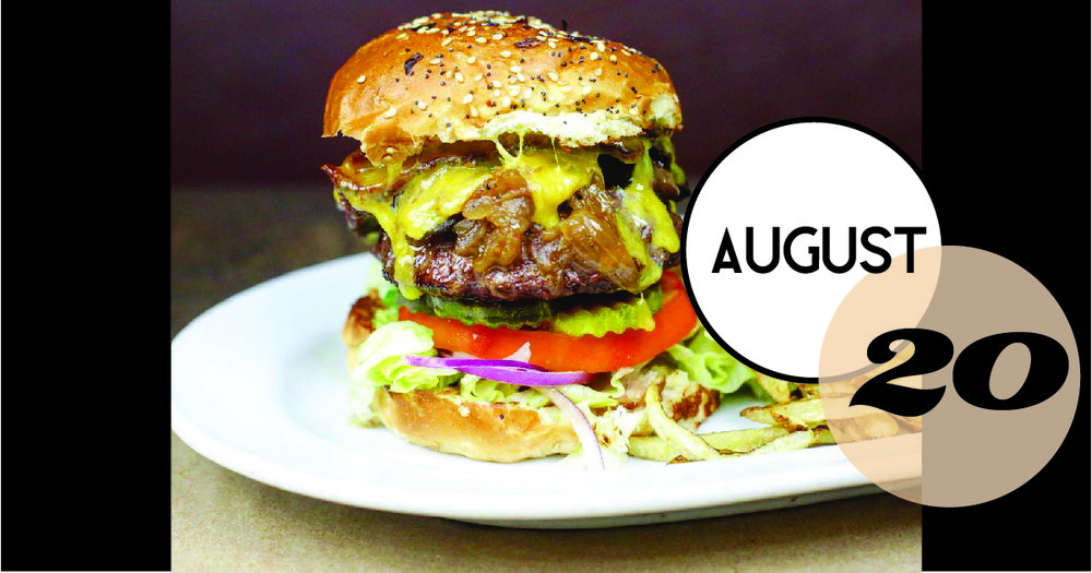 #BurgerMonday at Rutledge Cab means a $5 house burger and fries.