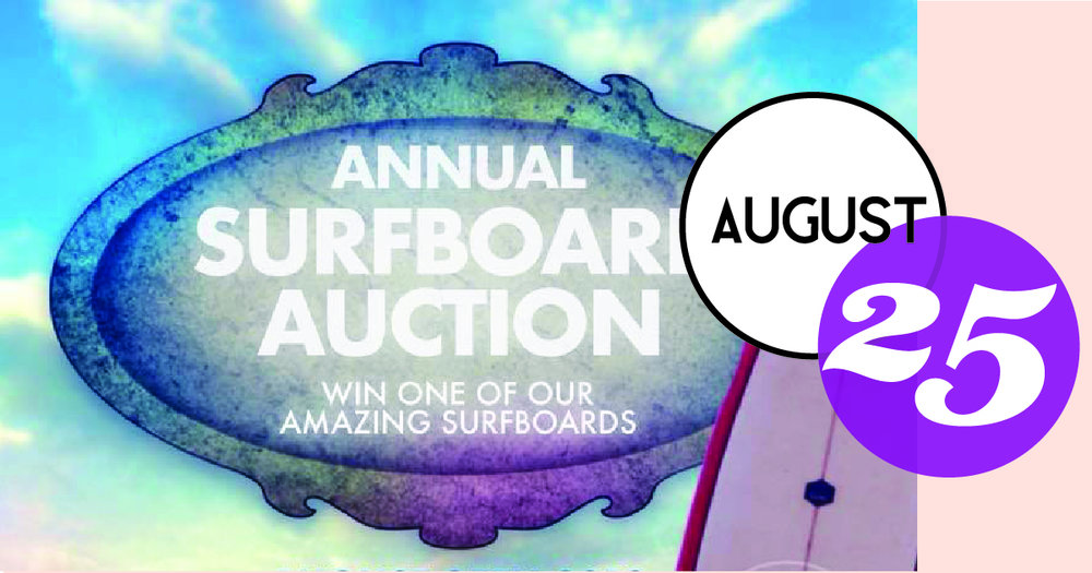 Warrior Surf Foundation presents their Annual Surfboard Raffle at the Bohemian Bull.