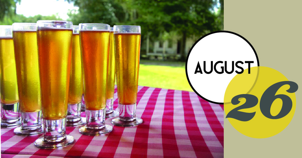 Commemorate the end of the summer with live music by The Bluestone Ramblers and local brews from Holy City Brewing at Middleton Place Restaurant.