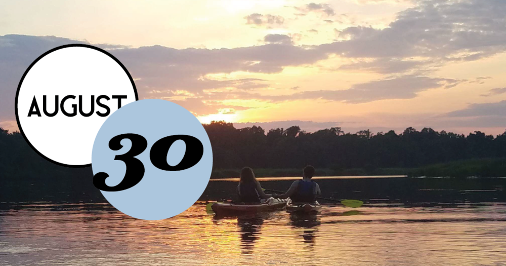 Charleston Kayak Company and The Inn at Middleton Place invite you to a twilight Kayak trip.