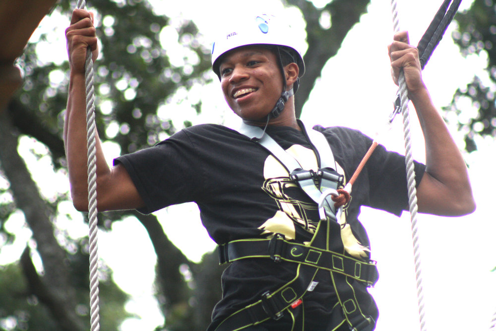 Wild Blue Ropes Adventure   features 72 high-climbing courses for kids or adults at every level from novice to expert.