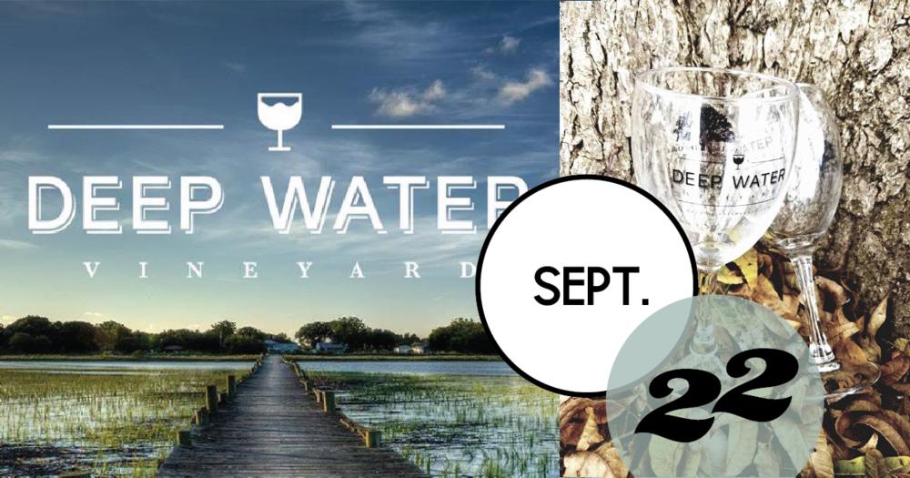 Deep Water Vineyards is hosting a wine & chocolate pairing at Deep Water Vineyard on Wadmalaw Island.