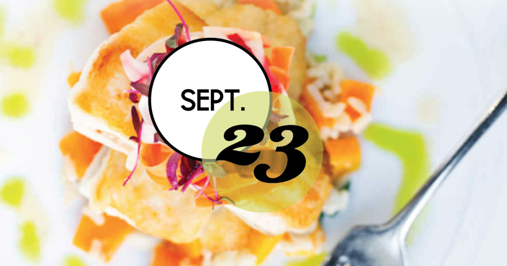Restaurant Week has been EXTENDED to Sunday, September 23rd!