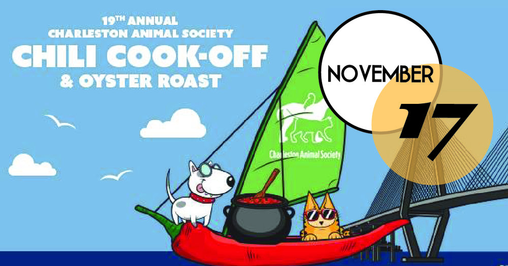"""Participate in the 2018 Chili Cook-off & Oyster Roast and enjoy the homemade chili, the roasted oysters, the live music, the games, the refreshments and the """"Kids Zone!"""" You will also find an adoptable animal area with pets ready and waiting for new homes."""