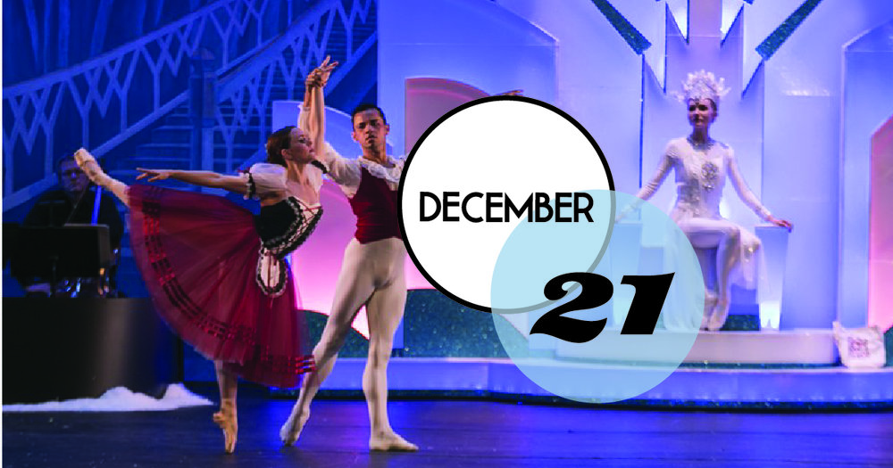 The Snow Queen returns to the Sottile stage. Choreography by SC Arts Commission's 2017 Fellowship winner, Jonathan Tabbert, custom-made costumes, and excellent set designs by Buchanan Arts will transport the audience to another world filled with mischievous goblins and dancing snowflakes.