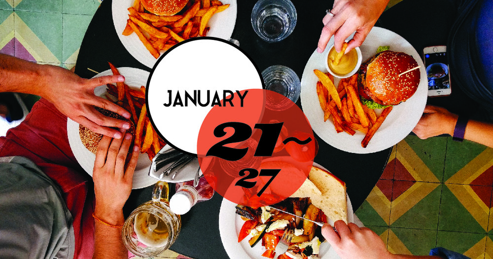 Avondale's Restaurant Week in Charleston,SC will run from Jan 21st to Sunday, January 27th,