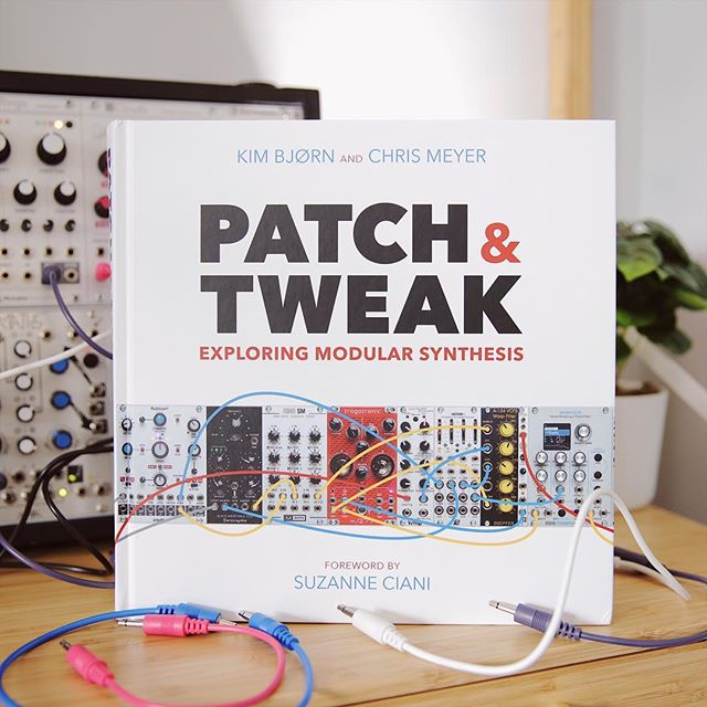 Patch & Tweak is here!! I'm so glad this book exists in the world — I'm a huge fan of books (I used to make YouTube videos about books before synths) and I'm so so happy to have been asked to write a page of patch tips! This book is full of contributions from the greatest people and I'm honoured to sit alongside them. I will be learning so much from this book and the people who contributed for a long time to come. Huge congratulations @kim_bjorn @patchandtweak !