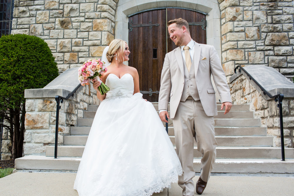 CHELSEA + DREW - Kansas City wedding at 28 Event Space, August 2015 // Photography: Heather Brulez