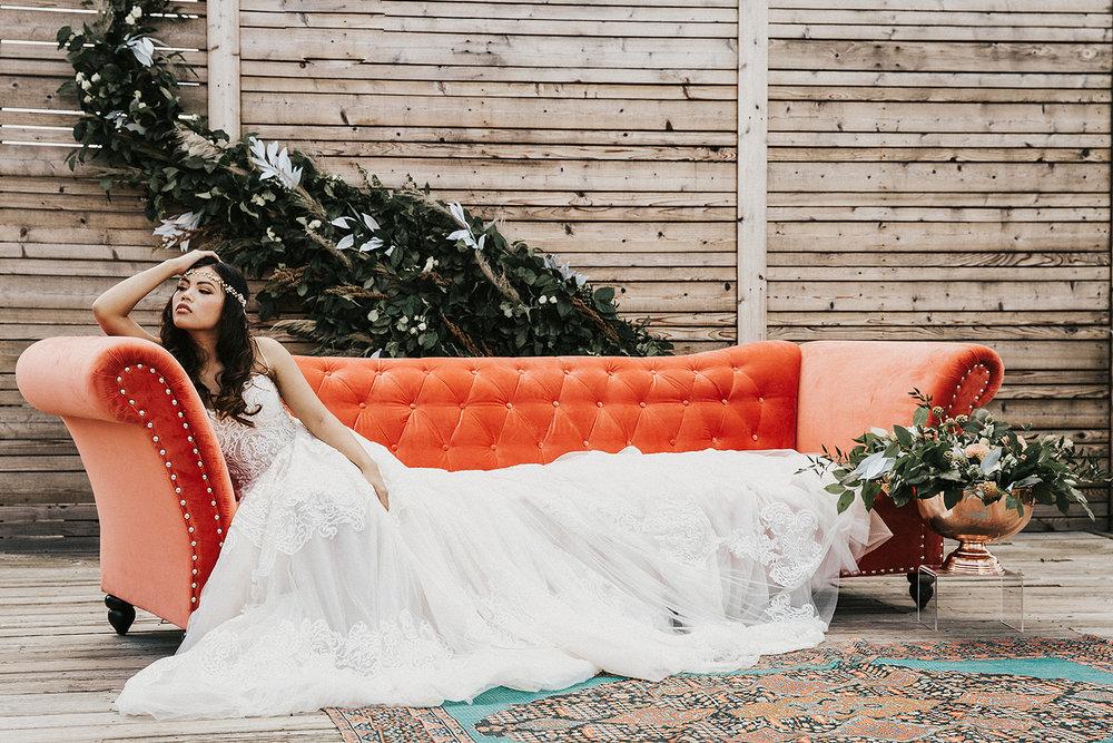 SUMMER 2018 BRIDAL SHOOT - Dallas styled shoot at 2616 Commerce Event Center, May 2018 // Photography: Madison Katlin