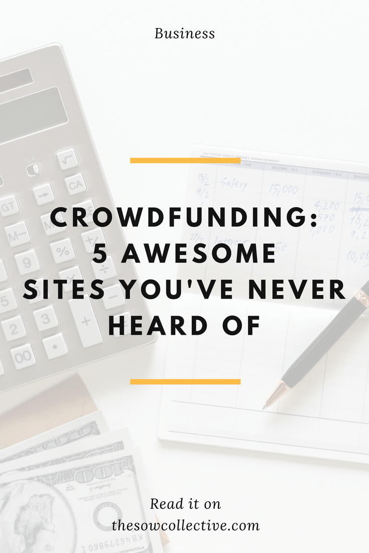 list of best crowdfunding sites TSC