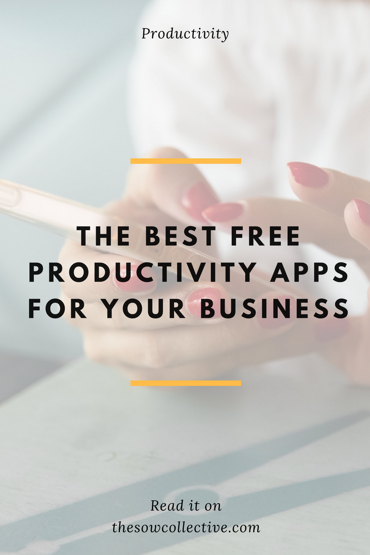 best free productivity apps 2018 - TSC