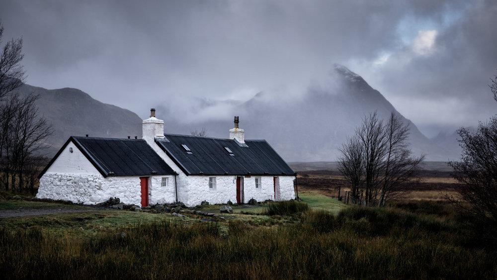 'A Humble Highland Abode'