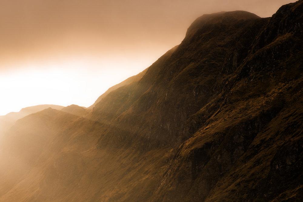 'Upon Lofty Peaks - Glen Lyon'