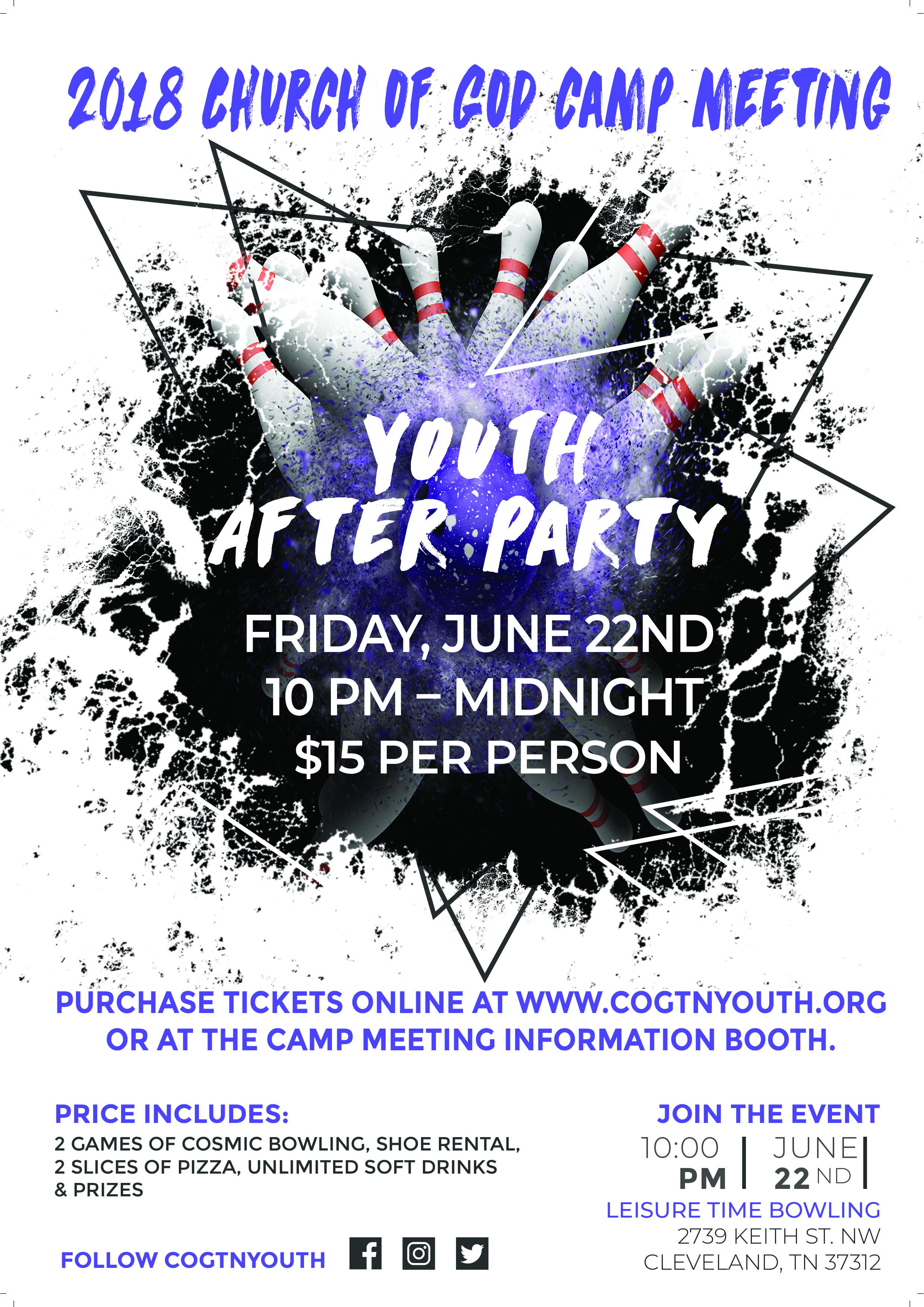 Youth After Party Tennessee Church Of God Youth And Discipleship