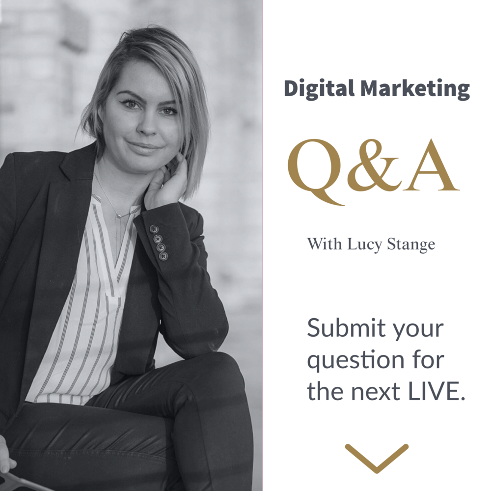 LIVE Q&A with Lucy Stange