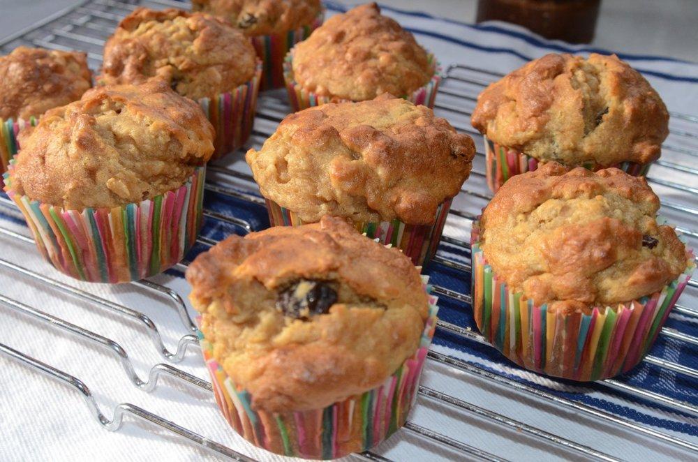 Bettie's Gluten-Free Oatmeal Muffins