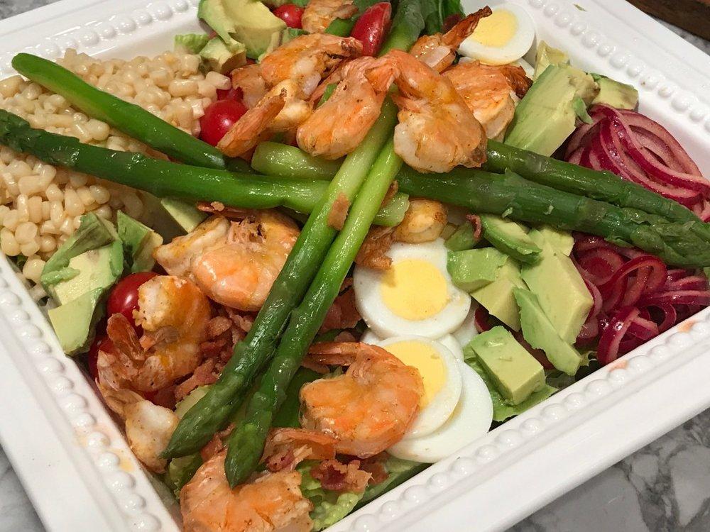 Asparagus Cobb Salad