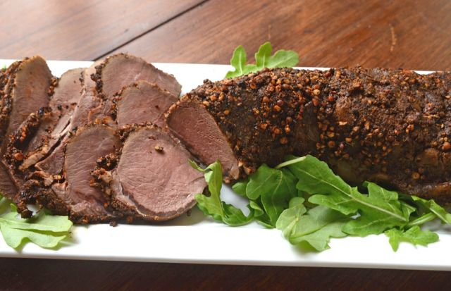 Roast Tenderloin of Venison