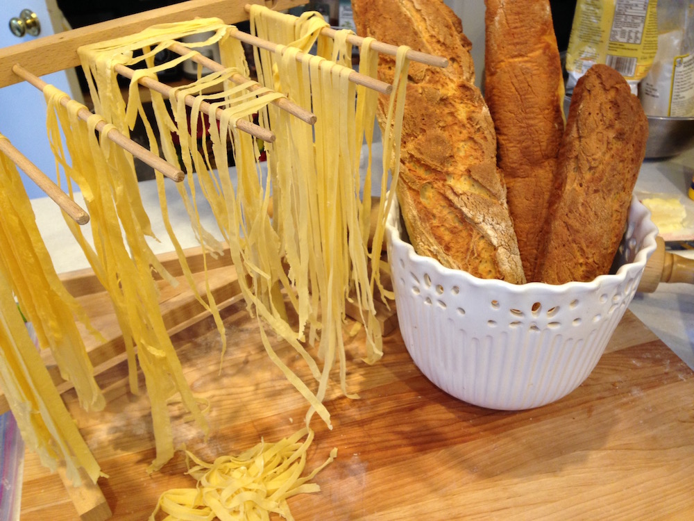 Pasta and Bread - Gluten-free!