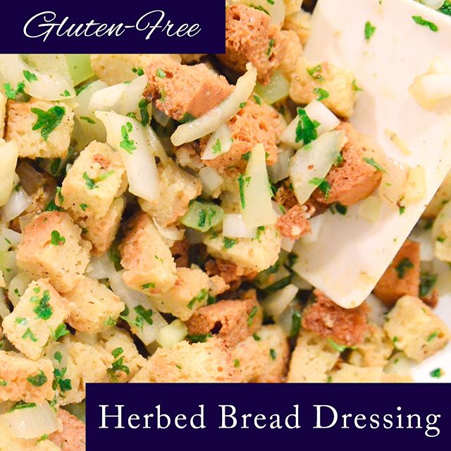 Did you know you could cut and toast #glutenfree bread cubes and store in a resealable plastic bag for up to 4 weeks?  Find the recipe by clicking the link in the bio!  Enjoy! —  https://www.nosacrifices.com/herbed-bread-dressing — • • • • • • • •  #thanksgiving #thanksgiving2018 #nosacrifices #nofilter #fallrecipes #glutenfreerecipes #glutenfreeliving #comfortfood #glutenfreelifestyle #stuffingrecipe #stuffing #foodie #healthylifestyle #healthyfood #thanksgivingdinner #thanksgivingday #thankful
