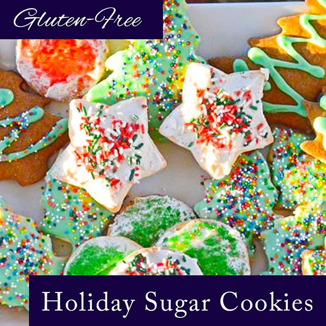 Bring on the (Gluten Free) Holiday Cookies!  https://www.nosacrifices.com/christmas-sugar-cookies  #glutenfree #nosacrifices #glutenfreelifestyle #cookies #holidayspirit #holidays #holidayparty #cookiemonster #glutenfreerecipe #glutenfreelife #cookierun