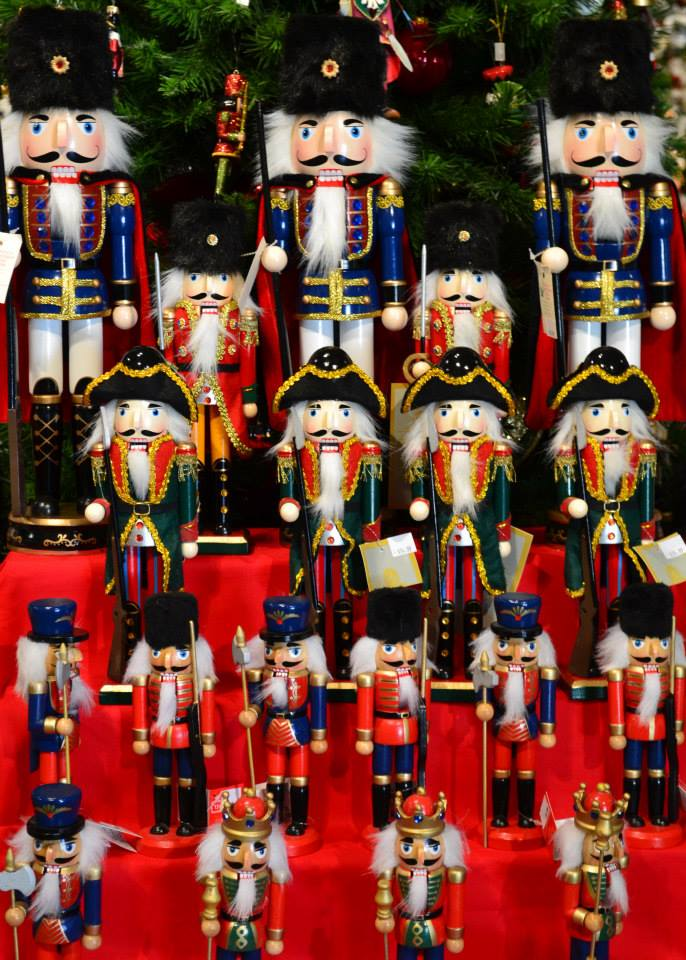 nutcrackers at santas christmas tree farm cutchogue