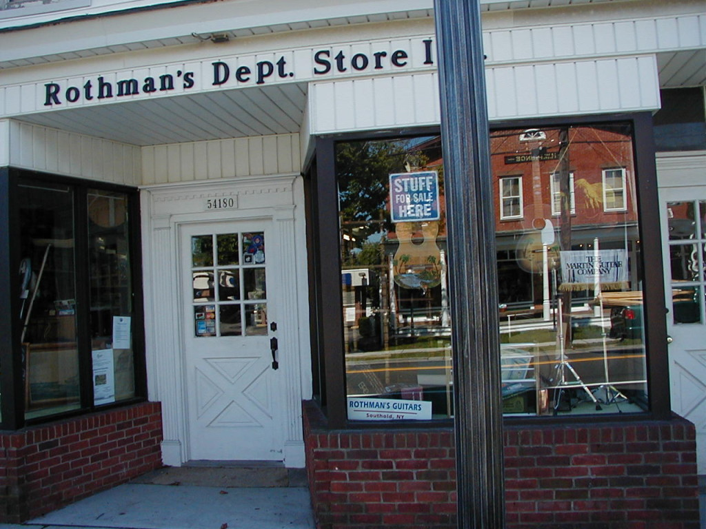 Rothman's Department Store Southold
