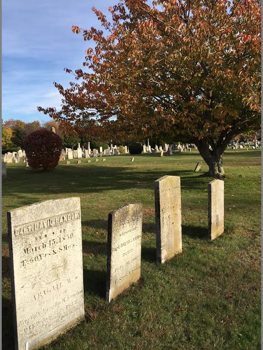 view of old burying grounds