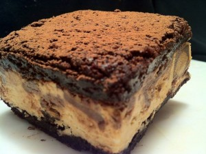Reeses Peanut Butter Mousse Brownie