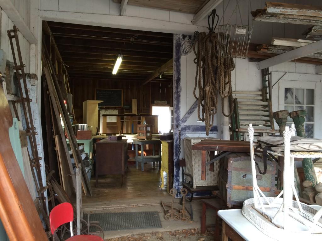 Jamesport Barn interior 2
