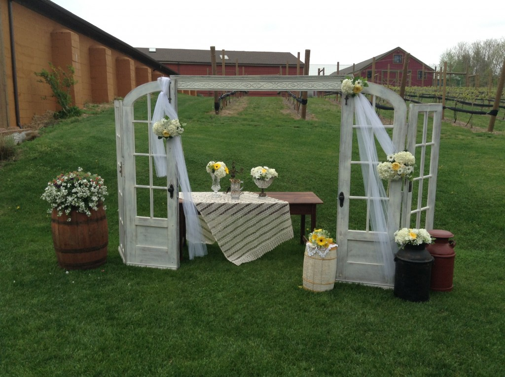 Rustic Wedding Props