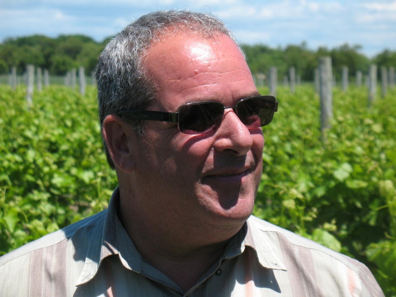 Richie Pisacano Roanoke Vineyards