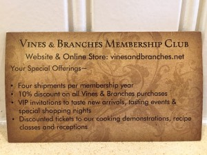 Vines and Branches club